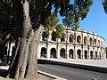 Arènes De Nîmes Près De Maison Carrée Et Tour Magne (155288647).jpeg