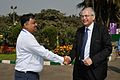 Arijit Dutta Choudhury and Hans-Martin Hinz - Science City - Kolkata 2014-02-13 2204.JPG