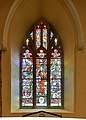 Armagh St. Patrick's Cathedral of the Church of Ireland South Aisle W12 Millennium Window 2019 09 09.jpg