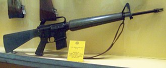 ArmaLite AR-15 - An early M16 rifle without forward assist