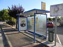Arrêt de bus VFD Anthon Mairie