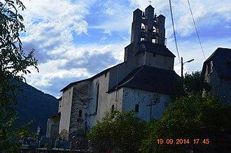 Arrien-en-Bethmale - The Church