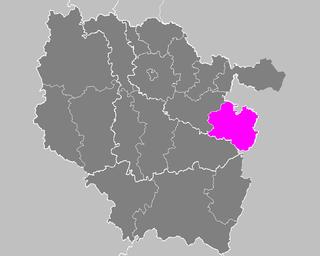 Arrondissement of Sarrebourg Former arrondissement in Grand Est, France