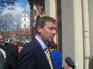Artūras Zuokas Lithuanian politician