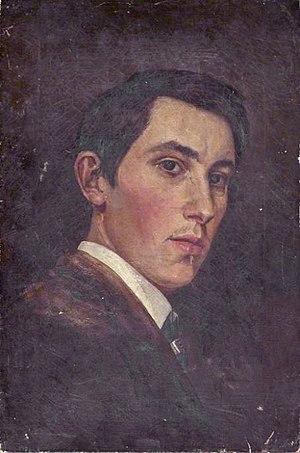 Arthur George Walker - Self portrait