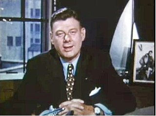 Arthur Godfrey American radio personality and television actor