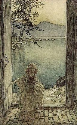 Arthur Rackham 1909 Undine (3 of 15)