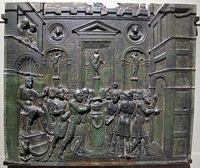 Scène à l'antique