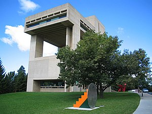 Herbert F. Johnson Museum of Art - The Johnson Museum of Art, South elevation