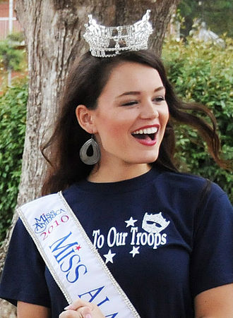 Alpha Omicron Pi - Image: Ashley Davis Miss Alabama