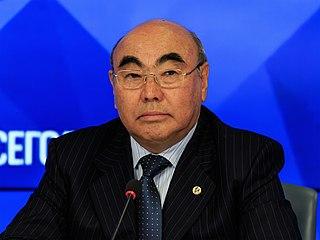 Askar Akayev President of Kyrgyzstan