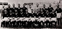 The Roma of the first scudetto in 1942