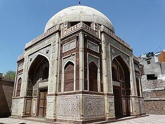 Ataga Khan - Ataga Khan's Tomb near Chausath Khamba in Nizamuddin West