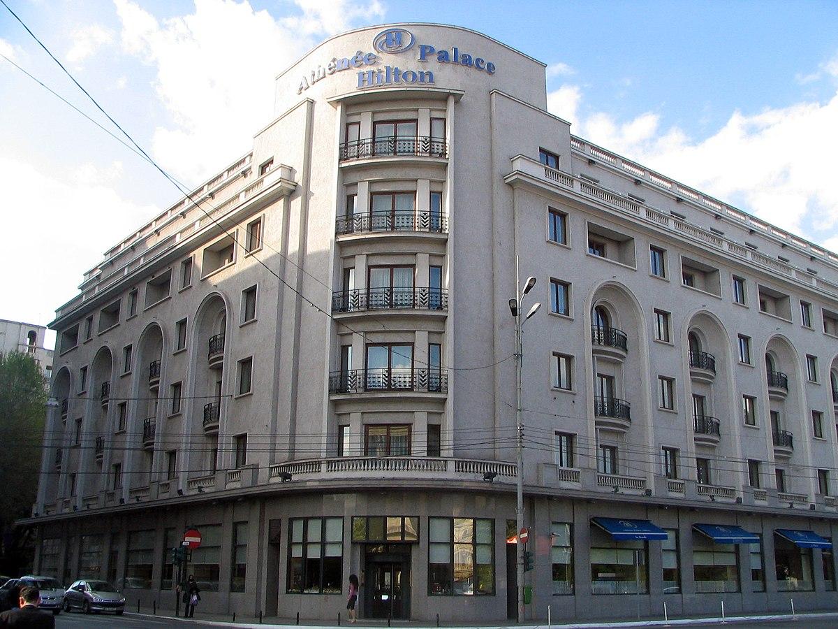 Athenee Palace Hilton Wikipedia