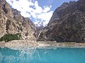 Attabad Lake view from Boat 01.jpg