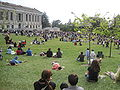 Audience on Memorial Glade for Cold War Kids concert at Cal Day 2010 6.JPG