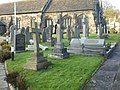 Aughton Parish Church, St Michael, Graveyard - geograph.org.uk - 1575235.jpg