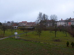 Augsburg Garten von St. Stephan