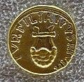 Augusto, aureo di p. petronius turpilianus con lira dal guscio di tartaruga, 19 ac..JPG