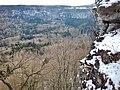Ausblick vom Hängenden Stein auf der Schwäbischen Alb, Traufgang - panoramio.jpg