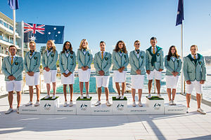 Australia at the Olympics - Australian Olympic Team Uniforms unveiled for Rio 2016
