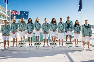 Seersucker - Australian Olympic athletes in 2016