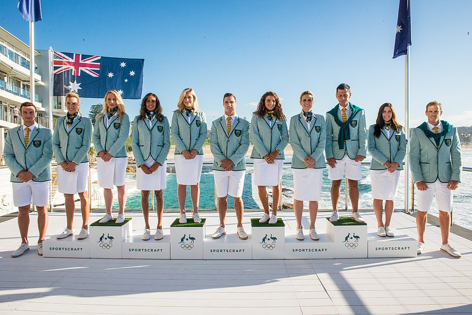 Australian Olympic Team Uniforms for Rio 2016
