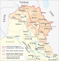 cities in iraqi kurdistan