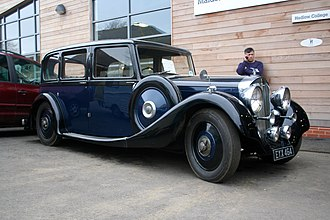 Autovia - limousine by Arthur Mulliner EYX 464 registered September 1938