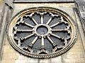 Auvers-sur-Oise (95), église N.D. de l'Assomption, façade occidentale, roue gothique.jpg