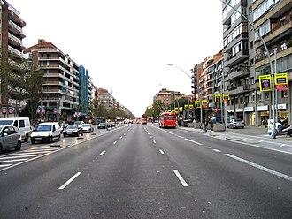 Avinguda Meridiana - Avinguda Meridiana.