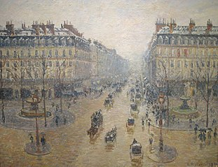 Avenue de l'Opera, Effect of Snow