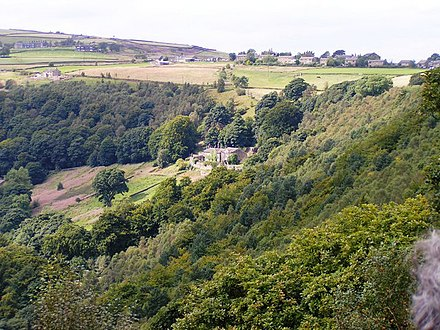 Lumb Bank in the Calder Valley Avron Foundation, Colden Valley - geograph.org.uk - 1188593.jpg