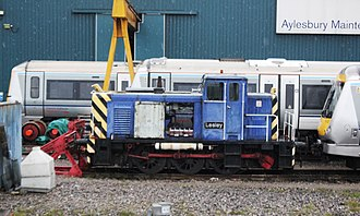 British Rail Class 01/5 - 01509 Lesley is Chiltern Railway's depot shunter at Aylesbury