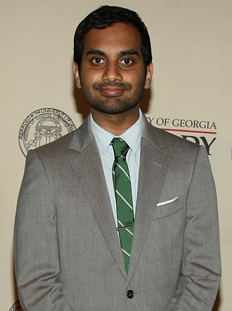 Aziz Ansari at the 71st Annual Peabody Awards Luncheon in 2012 Aziz Ansari 2012.jpg