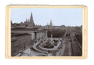 Austria-Hungary - Austrian Parliament building
