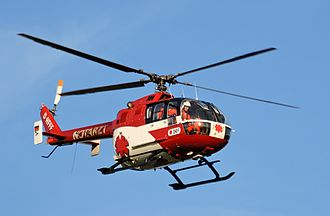 MBB Bo 105 - A German-registered Bo 105