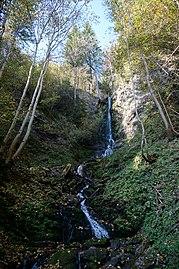 Bösensteiner Wasserfall, Bezirk Feldkirchen in Kärnten, Gemeinde Steuerberg.jpg
