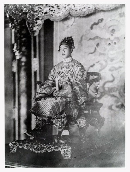 File:Bảo Đại au pouvoir.jpg