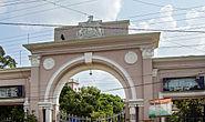 B.U. administrative complex gate