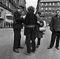 BKV ticket inspectors, 1972 Budapest. Fortepan 87796.jpg