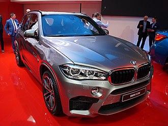 BMW X5 (F15) - BMW X5 M