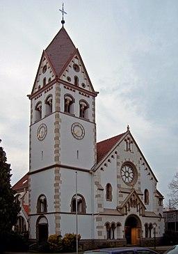 Bad Honnef Kirche 2005 03 19