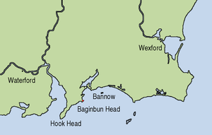 Raymond FitzGerald - On 1 May 1170 Raymond landed at Baginbun Head, a promontory fort which was easily defendable.