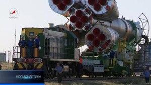 Файл:Baikonur Cosmodrome Railway.webm