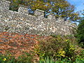 Bailey Walls, South East Range to Hertford Castle 015.JPG
