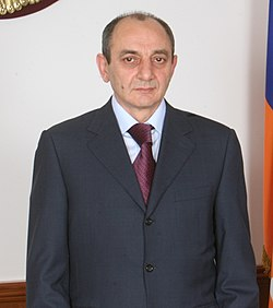 Bako Sahakyan, President of the Republic of Artsakh (cropped).jpg