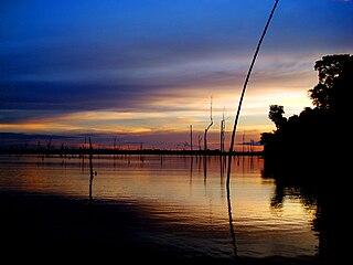 Balbina Dam Dam in Amazonas, Brazil