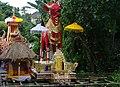 Bali wooden bull cremation coffin lembu 2015.jpg