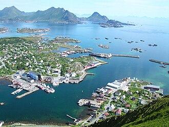 Nordland - Ballstad in Lofoten